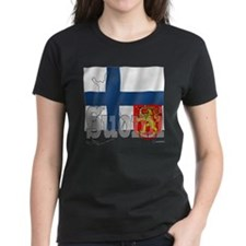 Silky Flag of Suomi Tee