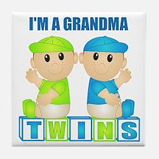 I'm A Grandma (PBB:blk) Tile Coaster