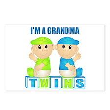 I'm A Grandma (PBB:blk) Postcards (Package of 8)