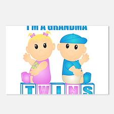 I'm A Grandma (BBG:blk) Postcards (Package of 8)