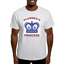 Plumber's Princess Ash Grey T-Shirt
