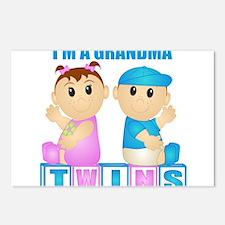 I'm A Grandma (PBG:blk) Postcards (Package of 8)