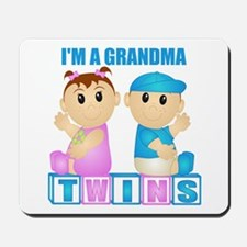 I'm A Grandma (PBG:blk) Mousepad