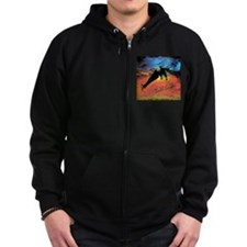 BALD EAGLE Zip Hoody