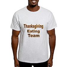 Thanksgiving Eating Team T-Shirt