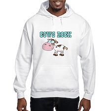 Cows Rock Hoodie