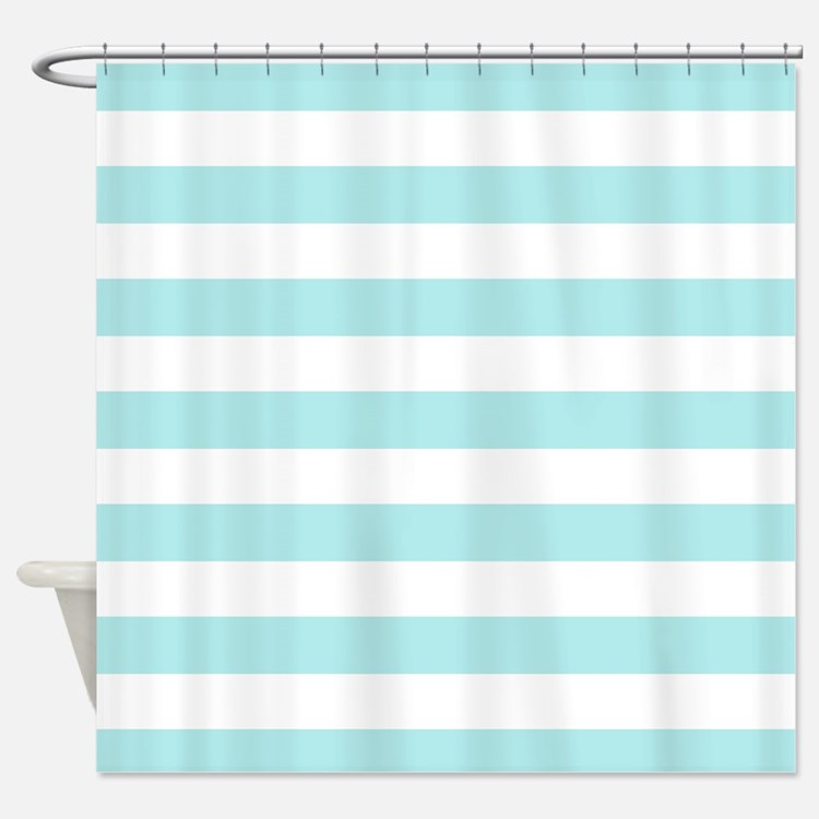 turquoise striped shower curtains turquoise striped