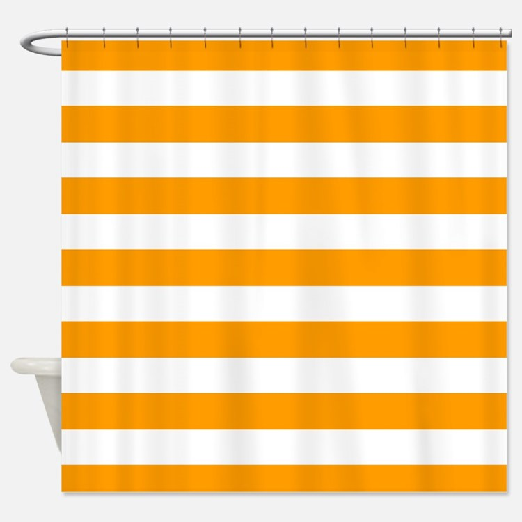 Horizontal Stripes Shower Curtains