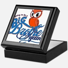Im going to be a Big Brother Again Owl Keepsake Bo