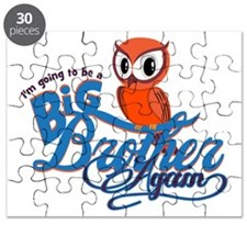 Im going to be a Big Brother Again Owl Puzzle