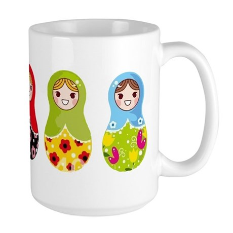 Matrioshka Mug