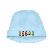 Matrioshka baby hat