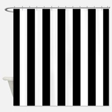 Black And White Shower Curtains Black And White Fabric Shower Curtain Liner