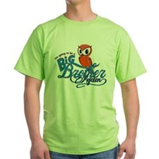 Im going to be a Big Brother Again Owl T-Shirt