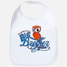 Im going to be a Big Brother Again Owl Bib