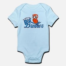 I'm going to be a Big Brother Owl Infant Bodysuit