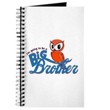 I'm going to be a Big Brother Owl Journal