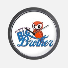 I'm going to be a Big Brother Owl Wall Clock
