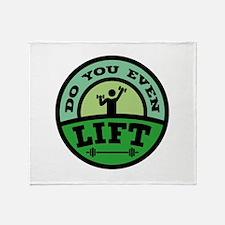 Do You Even Lift? Stadium Blanket