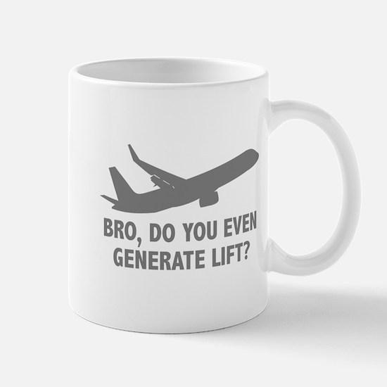 Bro, Do You Even Generate Lift? Mug