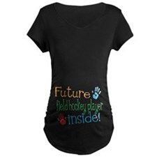 Field Hockey player Maternity T-Shirt