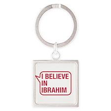 I Believe In Ibrahim Keychains