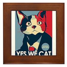 Candigato - Yes We Cat Framed Tile