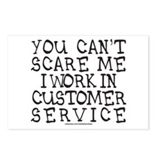 CUSTOMER SERVICE Postcards (Package of 8)
