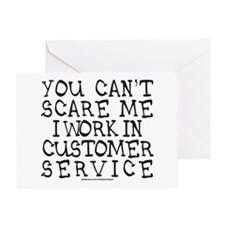 CUSTOMER SERVICE Greeting Card