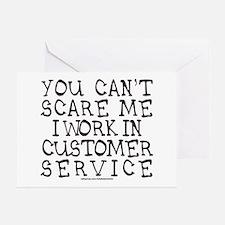 CUSTOMER SERVICE Greeting Card