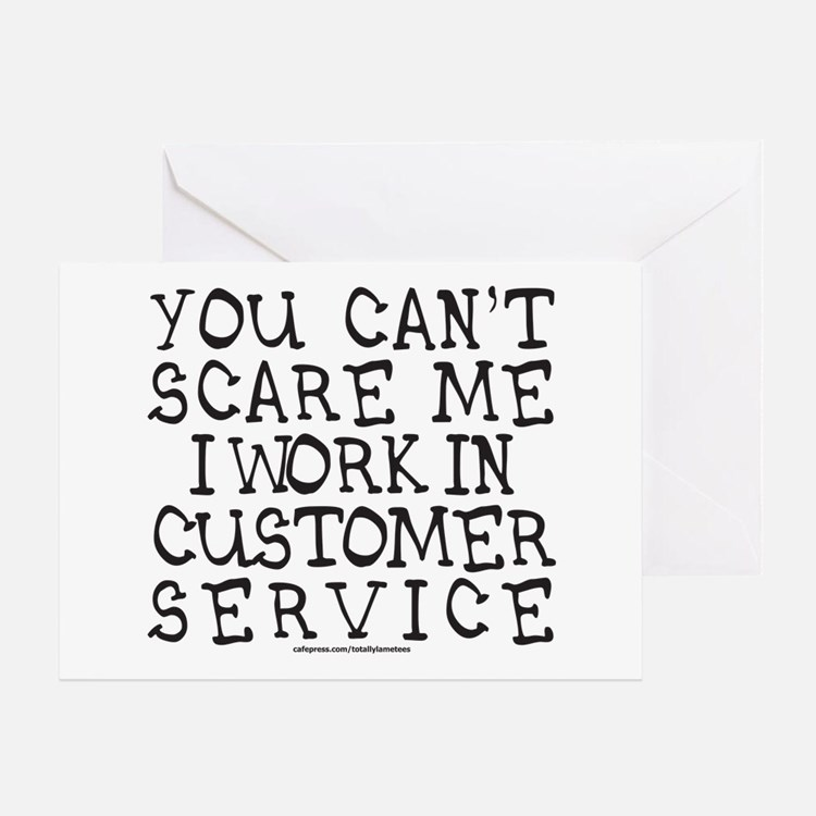 Customer Service Greeting Cards