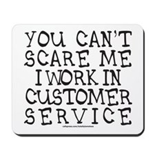 CUSTOMER SERVICE Mousepad