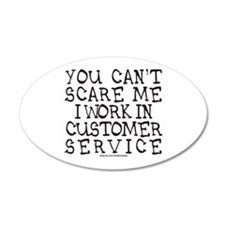 CUSTOMER SERVICE Wall Decal