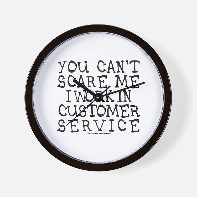 CUSTOMER SERVICE Wall Clock
