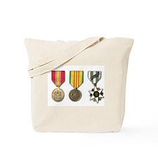 Vietnam Medals Tote Bag