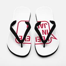 I Believe In Jabari Flip Flops