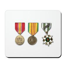 Vietnam Medals Mousepad