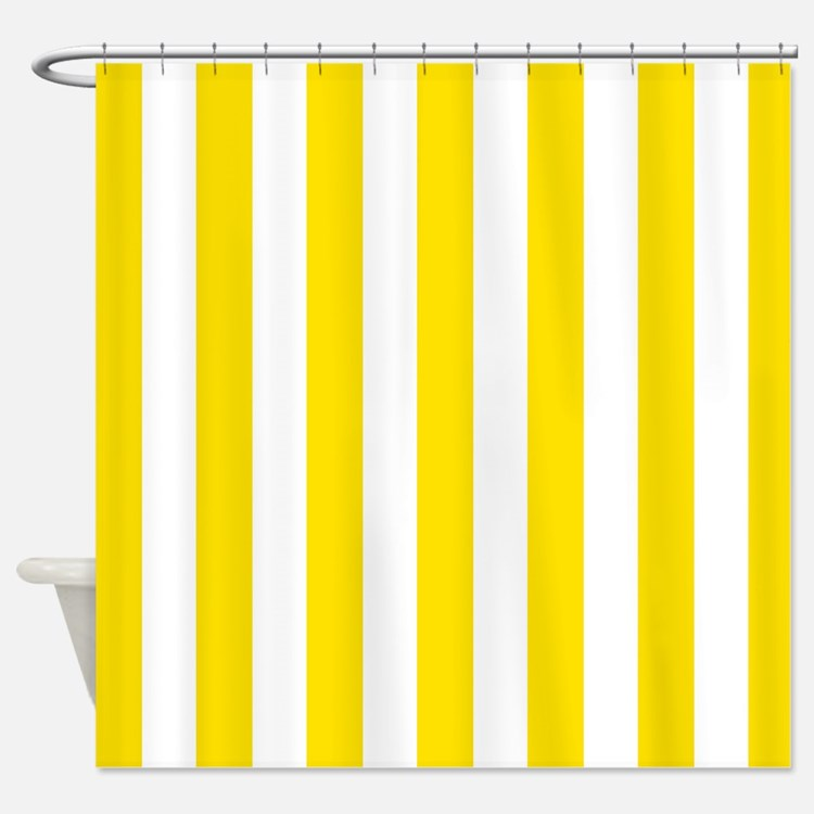Mustard Shower Curtains