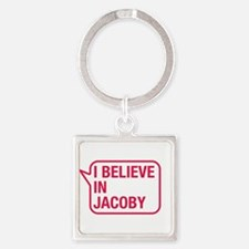 I Believe In Jacoby Keychains