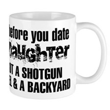 Shotgun, Shovel & A Backyard Mug