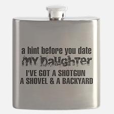 Shotgun, Shovel & A Backyard Flask