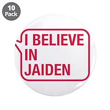 """I Believe In Jaiden 3.5"""" Button (10 pack)"""