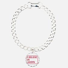 I Believe In Jaidyn Bracelet