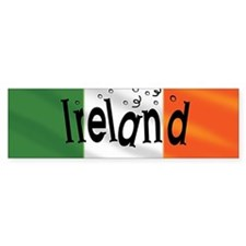 Ireland Flag Bumper Bumper Bumper Sticker