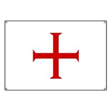 Knights Templar Cross Banner
