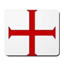 Knights Templar Cross Mousepad