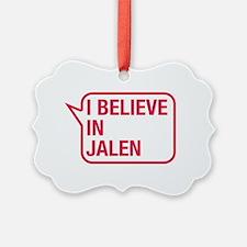 I Believe In Jalen Ornament