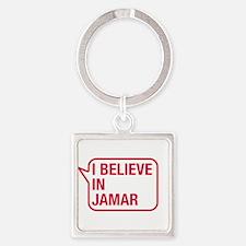 I Believe In Jamar Keychains