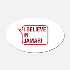 I Believe In Jamari Wall Decal