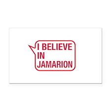 I Believe In Jamarion Rectangle Car Magnet